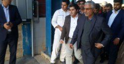 بازدید استاندار فارس از کارخانه جوش شیرین پارس